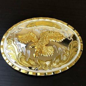 Other - Eagle vintage belt buckle removable cowboy men